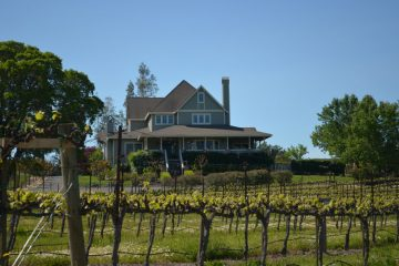 Winery exterior paint